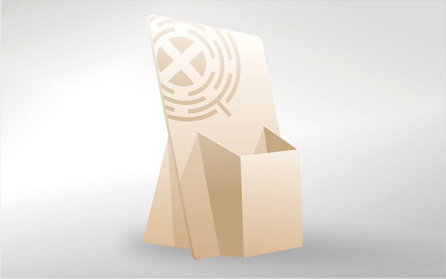 Диспенсеры картонные рекламные