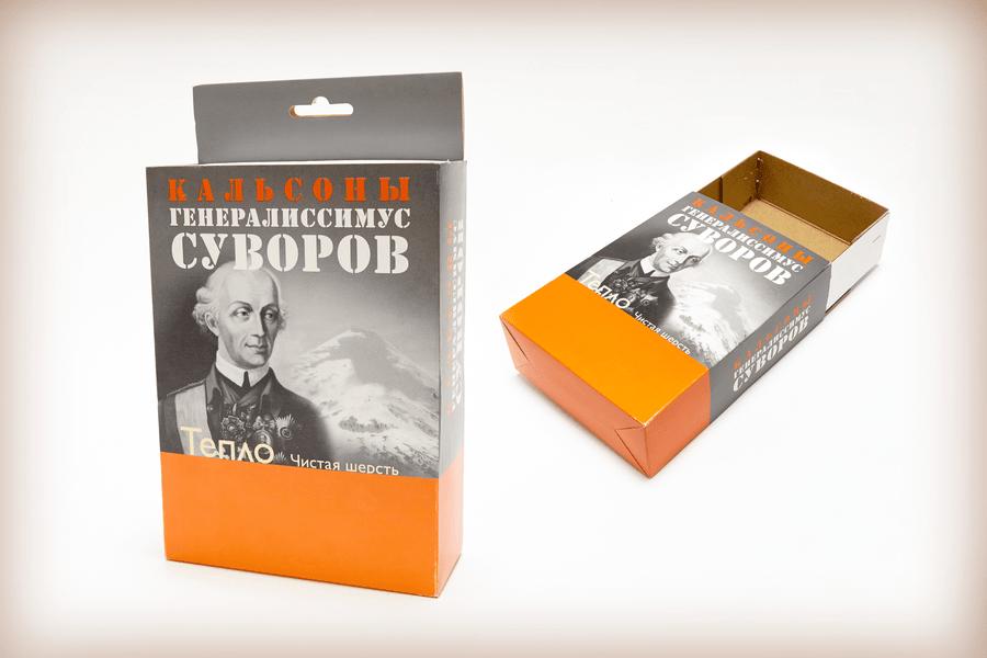 Картонная упаковка для товаров - 1275+1277