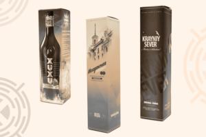 Упаковка алкогольная картонная
