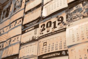Календари настенные, настольные, карманные: печать, изготовление