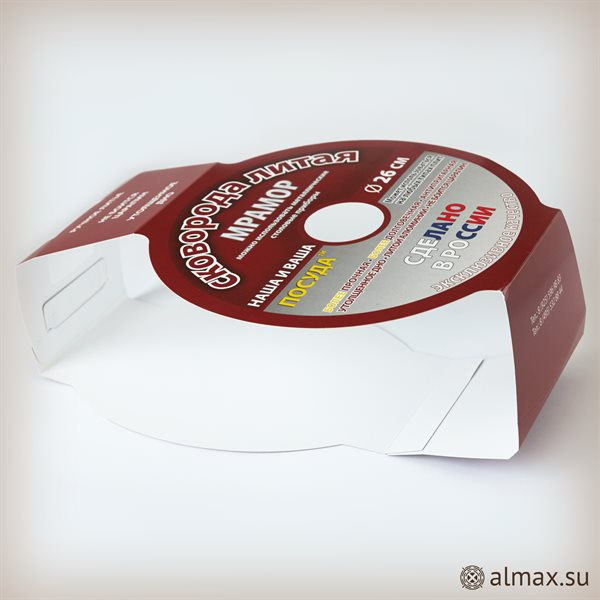 Обечайка (шубер) для промтоваров - сковорода - 8982