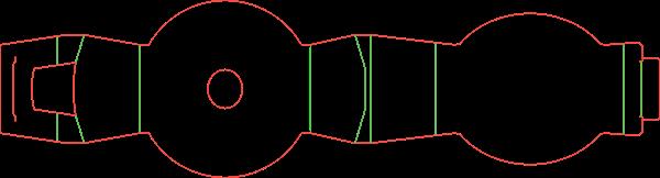Штамп для шубера (обечайки) на сковороду 18-2644
