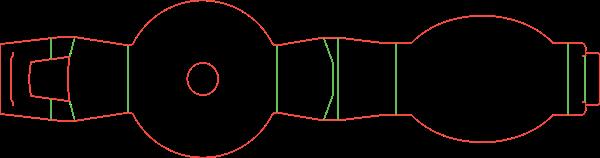 Штамп для шубера (обечайки) на сковороду 18-2645