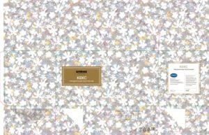 Упаковка для кекса - макет - 18-0692