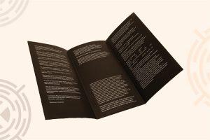 Буклеты - листовая продукция