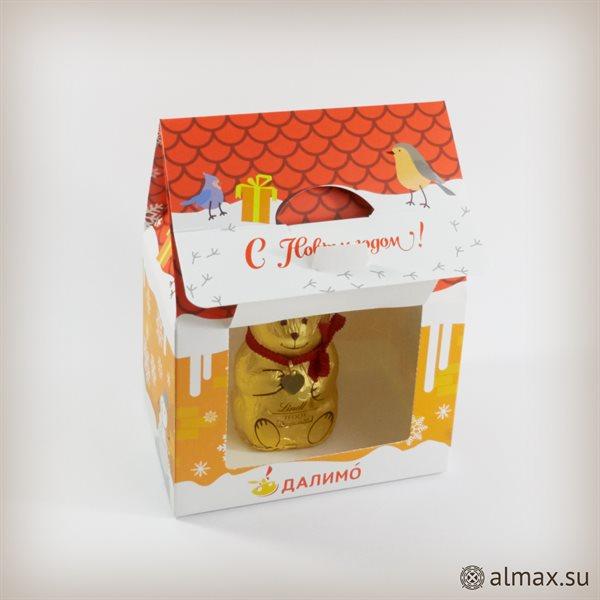 Нестандартная упаковка - подарочный домик - 1