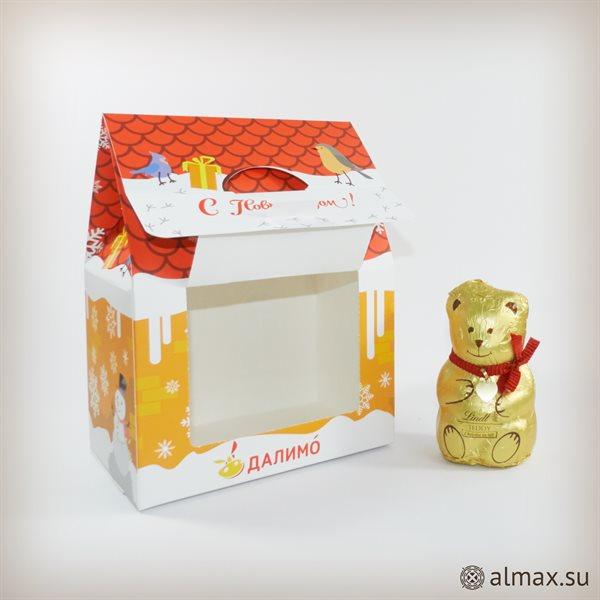 Нестандартная упаковка - подарочный домик - 2