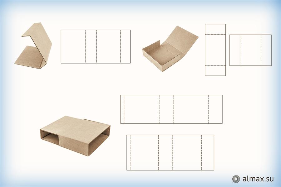Коробки-обечайки - примеры-схемы
